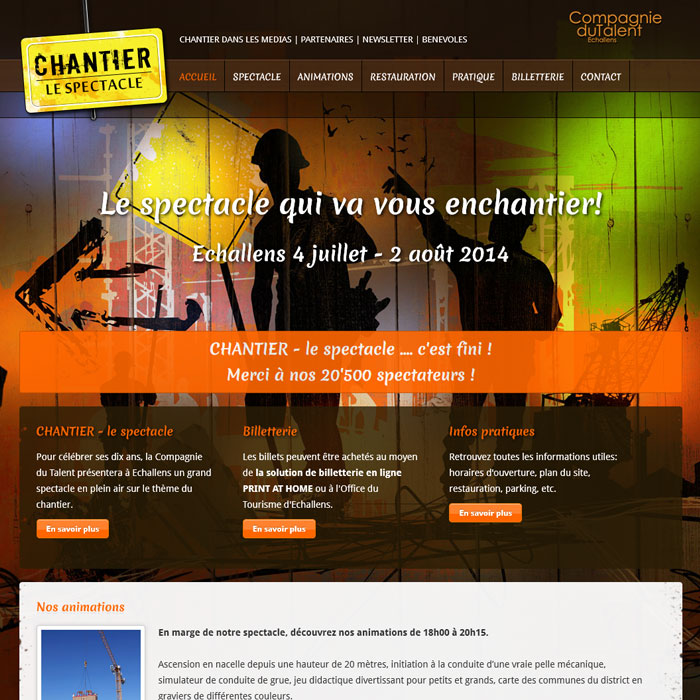 Chantier-le spectacle