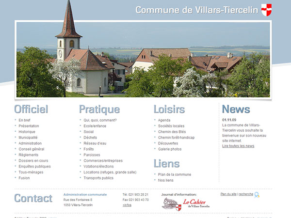 Commune de Villars-Tiercelin